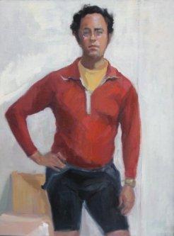 "oil on canvas, 12""x16"""