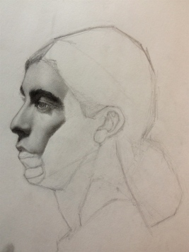 """pencil on paper, 11""""x14"""""""