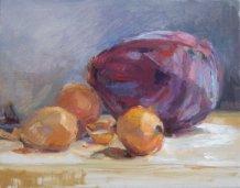 "oil on canvas, 11""x14"""